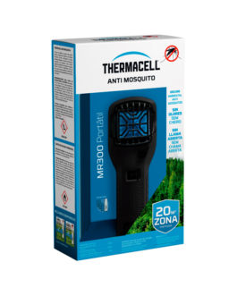 THERMACELL Antimosquitos PORTÁTIL MR300 NEGRO