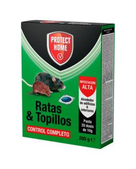 RODICUM CUMATETRALILO RATAS Y TOPILLOS PASTA 200g.