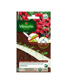 Cinta de semillas Rabanito TINTO HF1